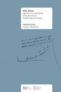 DEL AULA. APORTE A LA ENSEÑANZA DE LA LITERATURA